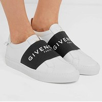 inseva GIVENCHY Classic Fashionable Women Men Casual Leather Sport Shoes Sneakers
