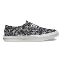 Chambray Retro Floral Authentic Slim | Shop at Vans