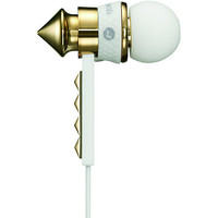Beats By Dre HeartBeats White & Gold Earbud Headphones