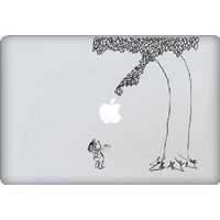 Giving Tree Decal - Vinyl Macbook / Laptop Decal Sticker Graphic