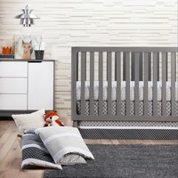 Trend Lab 3pc Crib Bedding Set – Ombre Gray