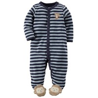 Carter's Stripe Sleep & Play - Baby Boy, Size: