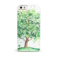 Splattered Watercolor Tree of Life iPhone 5/5S/SE INK-Fuzed Case