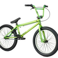 Kink Curb Complete BMX Bike Green