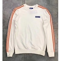 """Adidas"" Round Neck Top Sweater Pullover Sweatshirt"