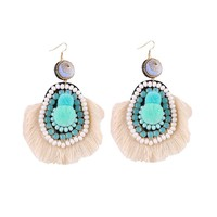 Boho Turquoise Fashion Earrings