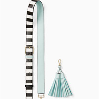 make it mine stripe strap/tassel pack | Kate Spade New York