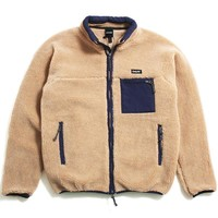 Alpine Fleece Jacket Tan