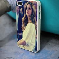 Beautiful Lana Del Rey iPhone 4 5 5c 6 Plus Case, Samsung Galaxy S3 S4 S5 Note 3 4 Case, iPod 4 5 Case, HtC One M7 M8 and Nexus Case