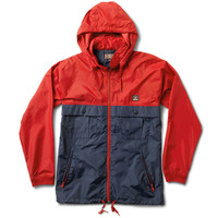 Fourstar: Ishod Tour Jacket - Cardinal / Navy