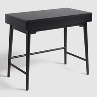 Black Wood Zola Desk
