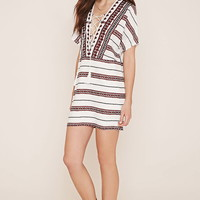 Contemporary Lace-Up Dress | LOVE21 - 2000153062