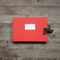Small Red Scrapbook