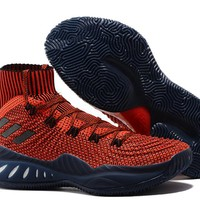 Adidas Performance Men's Crazy Explosive 2017 Primeknit Basketball-Shoes - Chinese Red