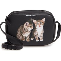 Balenciaga Extra Small Kittens Calfskin Leather Camera Bag | Nordstrom