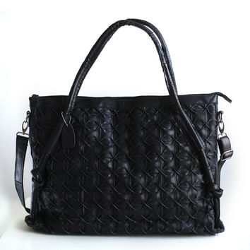 Leather Punk Mosaic Bags Shoulder Bags [6049526337]
