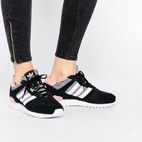 adidas Originals ZX Gray & Pink Sneakers