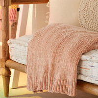 Chenille Sweater Throw Blanket   Urban Outfitters
