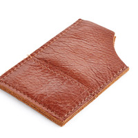 Leather Metro Slim Wallet, Whiskey, Wallets
