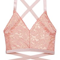 Rosa Lace Essential Easy Fit Bralette in Apricot