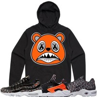 ORANGE BAWS Black Sneaker Hoodie - Nike Air Just Do It