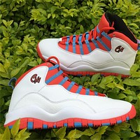 Air Jordan 10 Chicago Basketball Shoes 40-47