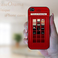 iPhone 4 case LONDON Telephone British Rubber iPhone 4 Case, iPhone 4S case - Featured in German Magazin
