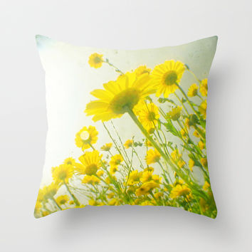 Sunny Afternoon Throw Pillow by Cassia Beck