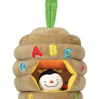 Melissa & Doug Musical Pull Beehive Baby Toy