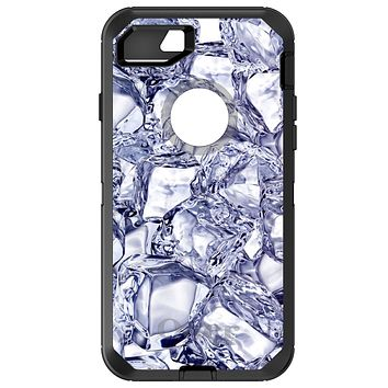DistinctInk™ OtterBox Defender Series Case for Apple iPhone / Samsung Galaxy / Google Pixel - Crystal Clear Ice