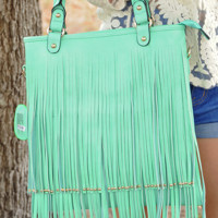 RESTOCK: Forever My Love Purse: Mint