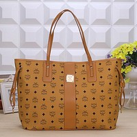 MCM Women Fashion Handbag Tote Shoulder Bag