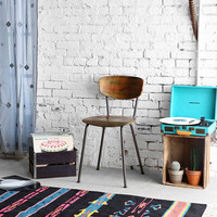 Kilim Woven 3x5 Rug in Black - Urban Outfitters