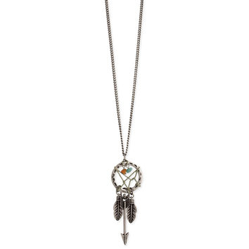Long Dreamcatcher Necklace