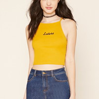 Laters Graphic Cami