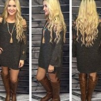 Olive in October Sweater Tunic