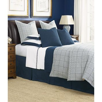 Cotswold Navy Bedding by Legacy Home