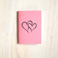 Small Notebook: Valentines, Hearts, Love, Kids, Pink, Gift, Valentine's Day, For Her, For Him, Mini Journal, Small Notebook, Unique, UU107