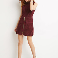 Genuine Suede Sheath Dress