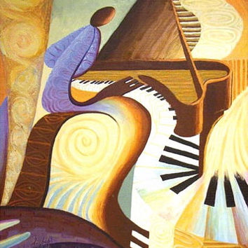 Piano (Offset Lithograph) ... Free Shipping till September 8, 2020