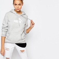 Puma | Puma Pullover Hoodie With Front Logo at ASOS