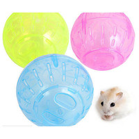 Pet Rodent Mice Jogging Hamster Gerbil Rat Play Plastic Toy Exercise Ball New