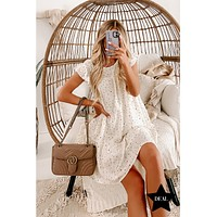 For You I Will Polka Dot Dress (Ivory)