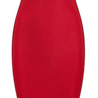 'Delacruz' Bandage Dress - Red