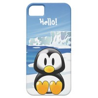 Cute Penguin iPhone 5 Cases from Zazzle.com