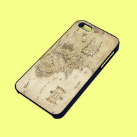 Middle Earth Map The Lord Of The Rings Phone Case