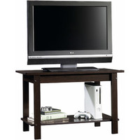 Walmart: Sauder Beginnings Cinnamon Cherry TV Stand for TVs up to 37""