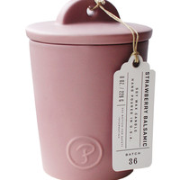 strawberry balsamic candle