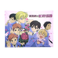 Ouran High School Host Club Welcome Party Fabric Poster