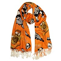 Natty Boh Baseball Players (Orange) / Scarf